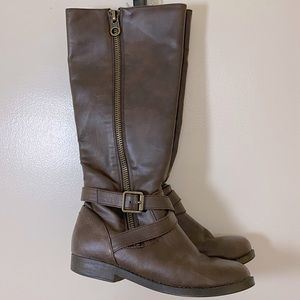 Just Fab Briwn Apollina Knee High Boots 5.5